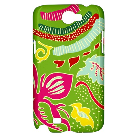 Green Organic Abstract Samsung Galaxy Note 2 Hardshell Case