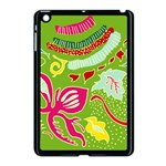 Green Organic Abstract Apple iPad Mini Case (Black) Front