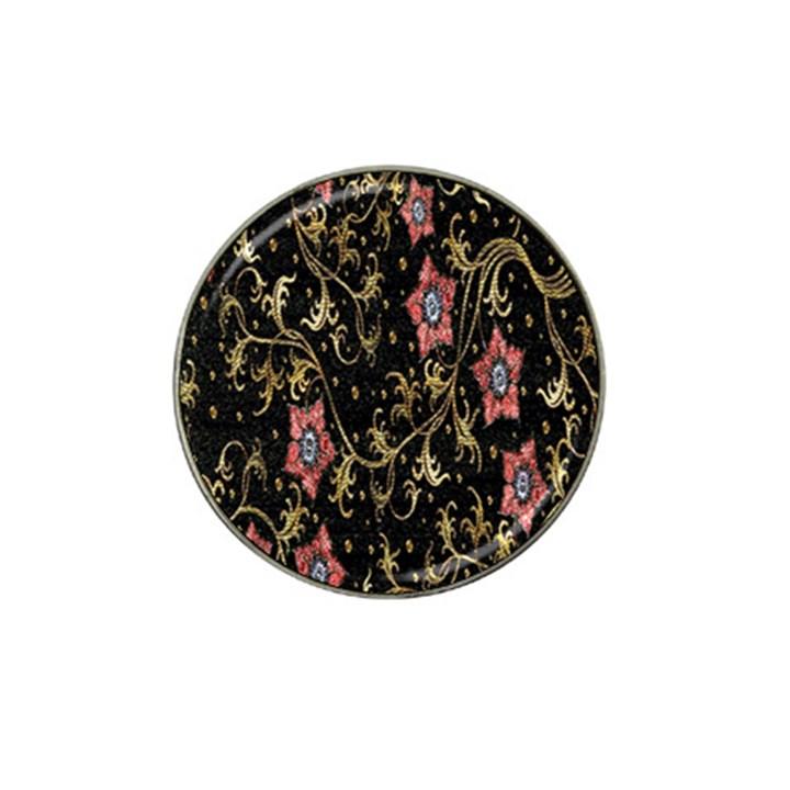 Floral Pattern Background Hat Clip Ball Marker (10 pack)
