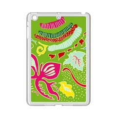 Green Organic Abstract iPad Mini 2 Enamel Coated Cases