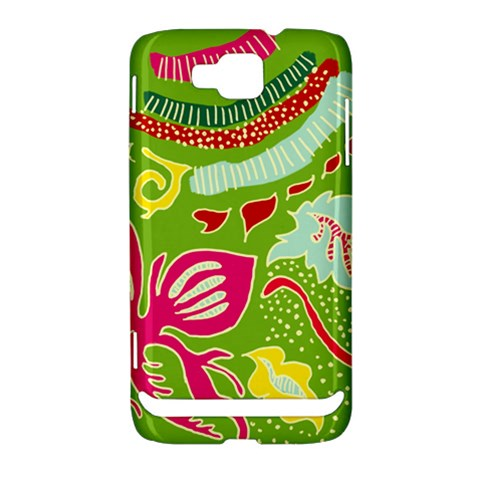 Green Organic Abstract Samsung Ativ S i8750 Hardshell Case