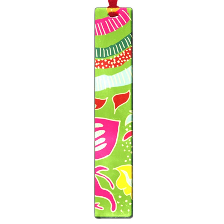 Green Organic Abstract Large Book Marks