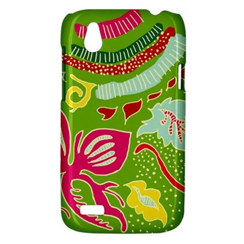 Green Organic Abstract HTC Desire V (T328W) Hardshell Case