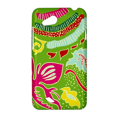 Green Organic Abstract HTC Desire VC (T328D) Hardshell Case