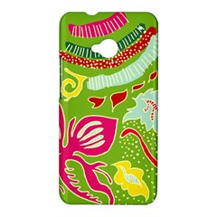 Green Organic Abstract HTC One M7 Hardshell Case