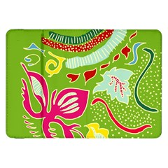 Green Organic Abstract Samsung Galaxy Tab 8 9  P7300 Flip Case