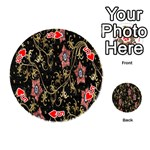 Floral Pattern Background Playing Cards 54 (Round)  Front - Heart5