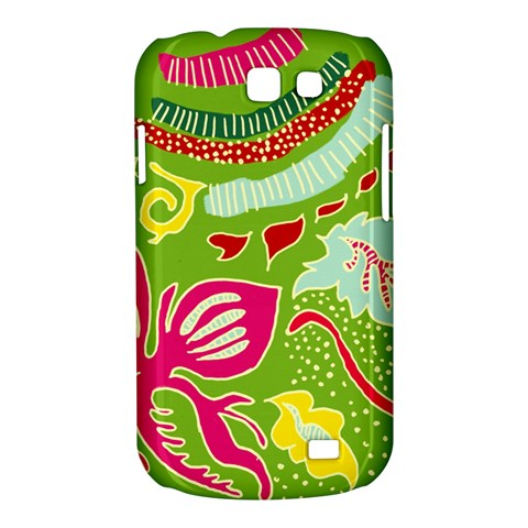 Green Organic Abstract Samsung Galaxy Express I8730 Hardshell Case