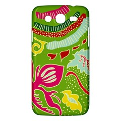 Green Organic Abstract Samsung Galaxy Mega 5.8 I9152 Hardshell Case