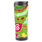 Green Organic Abstract Travel Tumbler Center
