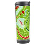 Green Organic Abstract Travel Tumbler Right