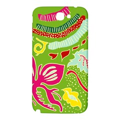 Green Organic Abstract Samsung Note 2 N7100 Hardshell Back Case