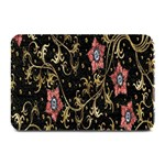 Floral Pattern Background Plate Mats 18 x12 Plate Mat - 1