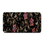 Floral Pattern Background Medium Bar Mats 16 x8.5 Bar Mat - 1