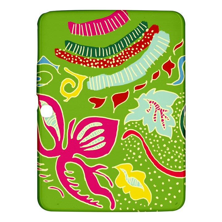 Green Organic Abstract Samsung Galaxy Tab 3 (10.1 ) P5200 Hardshell Case