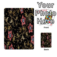 Floral Pattern Background Multi-purpose Cards (Rectangle)
