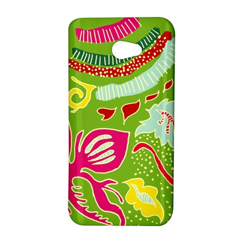 Green Organic Abstract HTC Butterfly S/HTC 9060 Hardshell Case