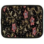 Floral Pattern Background Netbook Case (Large) Front