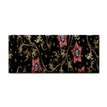 Floral Pattern Background Hand Towel Front
