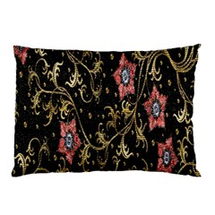Floral Pattern Background Pillow Case