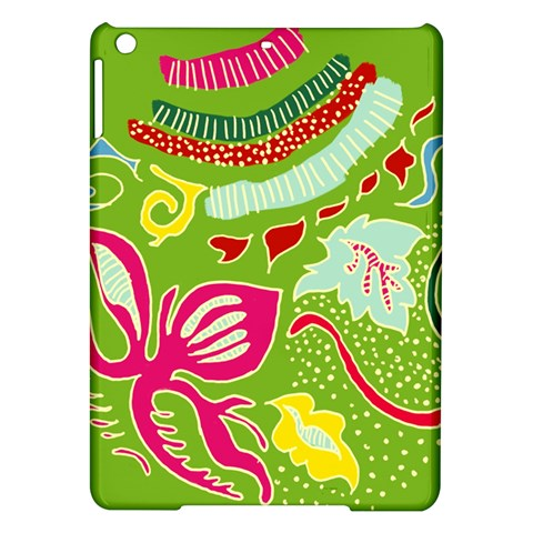 Green Organic Abstract iPad Air Hardshell Cases