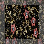 Floral Pattern Background Mini Canvas 6  x 6  6  x 6  x 0.875  Stretched Canvas