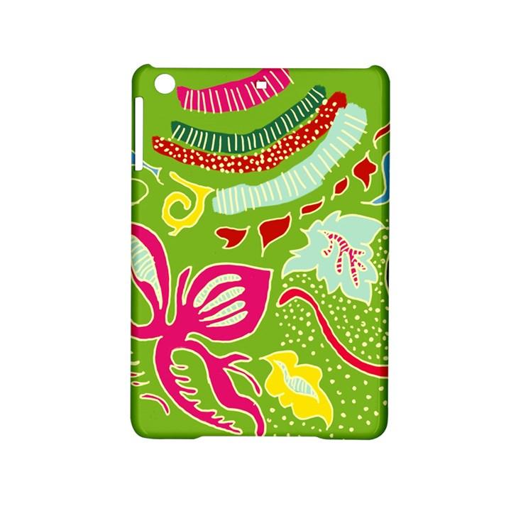 Green Organic Abstract iPad Mini 2 Hardshell Cases