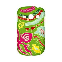 Green Organic Abstract Samsung Galaxy S6810 Hardshell Case