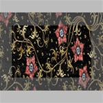 Floral Pattern Background Mini Canvas 6  x 4  6  x 4  x 0.875  Stretched Canvas