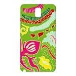 Green Organic Abstract Samsung Galaxy Note 3 N9005 Hardshell Back Case Front