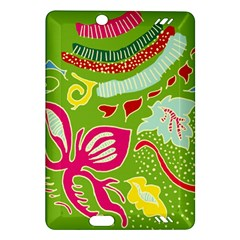 Green Organic Abstract Amazon Kindle Fire HD (2013) Hardshell Case