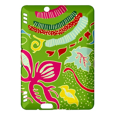 Green Organic Abstract Kindle Fire HDX Hardshell Case