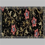 Floral Pattern Background Canvas 18  x 12  18  x 12  x 0.875  Stretched Canvas