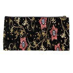 Floral Pattern Background Pencil Cases Back