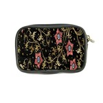 Floral Pattern Background Coin Purse Back