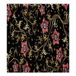 Floral Pattern Background Shower Curtain 66  x 72  (Large)  58.75 x64.8 Curtain