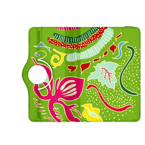 Green Organic Abstract Kindle Fire HDX 8.9  Flip 360 Case