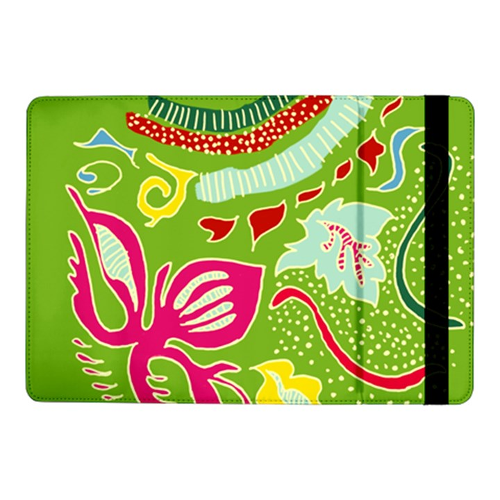 Green Organic Abstract Samsung Galaxy Tab Pro 10.1  Flip Case