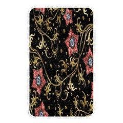 Floral Pattern Background Memory Card Reader