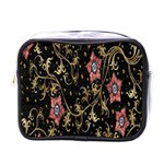 Floral Pattern Background Mini Toiletries Bags Front