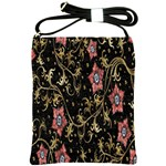 Floral Pattern Background Shoulder Sling Bags Front