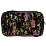 Floral Pattern Background Toiletries Bags 2-Side Front