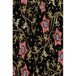 Floral Pattern Background 5.5  x 8.5  Notebooks Back Cover Inside