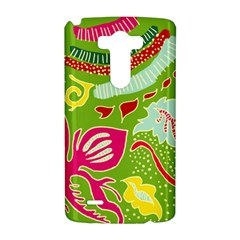 Green Organic Abstract LG G3 Hardshell Case