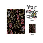 Floral Pattern Background Playing Cards 54 (Mini)  Front - ClubK