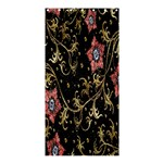 Floral Pattern Background Shower Curtain 36  x 72  (Stall)  33.26 x66.24 Curtain