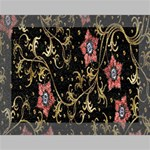 Floral Pattern Background Deluxe Canvas 16  x 12   16  x 12  x 1.5  Stretched Canvas