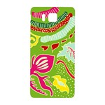 Green Organic Abstract Samsung Galaxy Alpha Hardshell Back Case Front