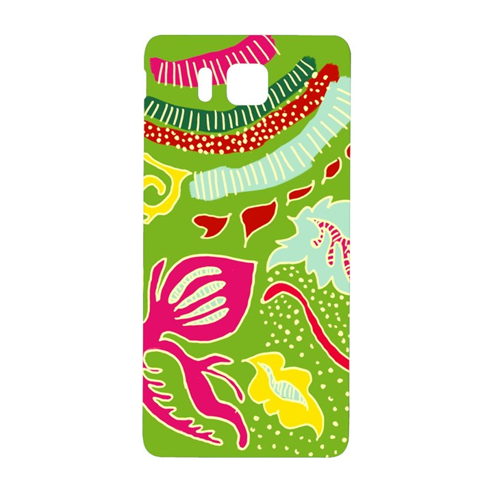 Green Organic Abstract Samsung Galaxy Alpha Hardshell Back Case