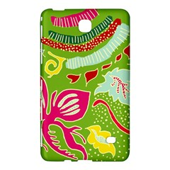 Green Organic Abstract Samsung Galaxy Tab 4 (7 ) Hardshell Case